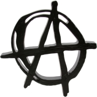 black anarchy symbol