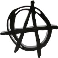 black anarchy symbol